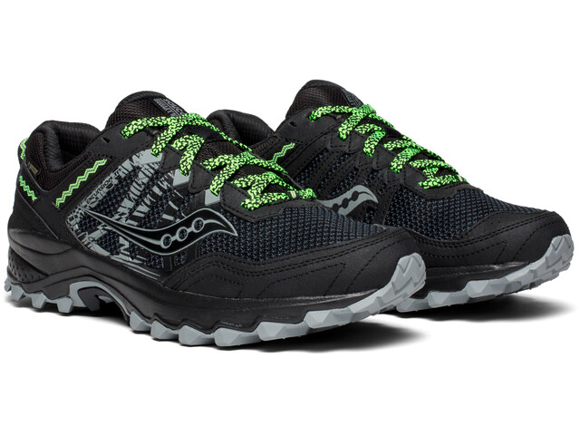saucony Excursion TR12 GTX Shoes Men Black